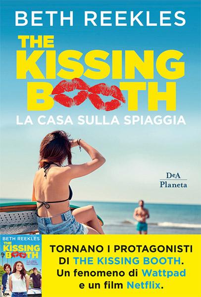 """""""The Kissing Booth - La casa sulla spiaggia"""" Book Cover"""