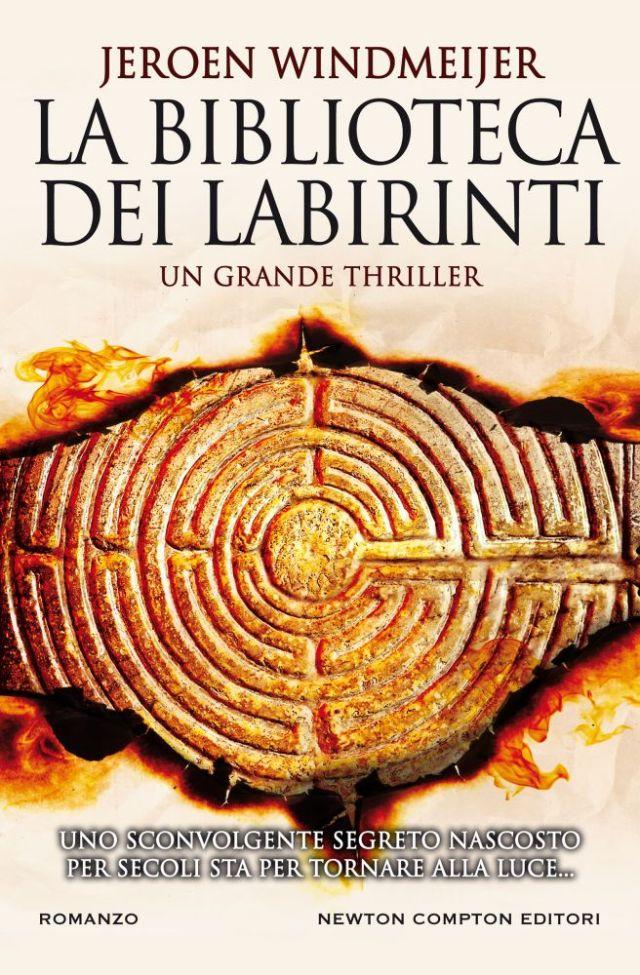 La biblioteca dei labirinti Book Cover