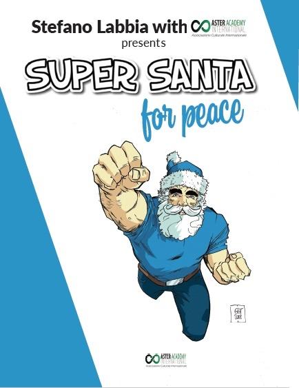 Super Santa for Peace Book Cover