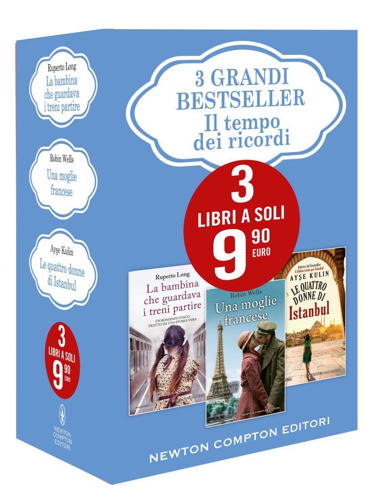 Il tempo dei ricordi (Cofanetto 3 grandi bestseller) Book Cover