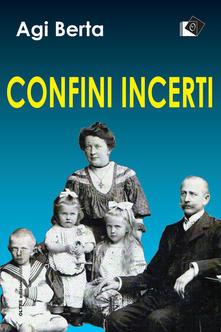 Confini incerti Book Cover