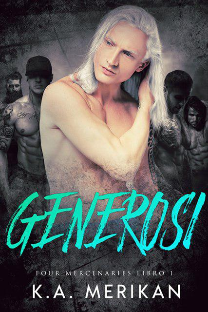 Generosi (Gay Harem Romance) Book Cover