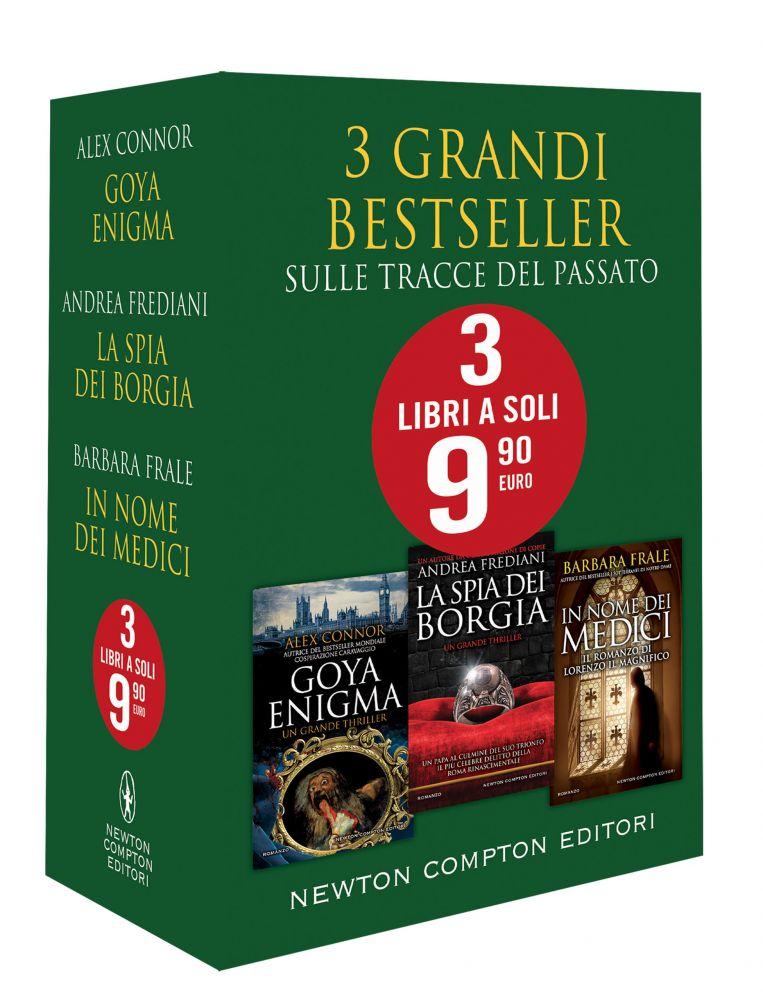3 Grandi Bestseller - Sulle tracce del passato Book Cover