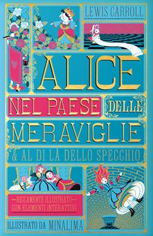 Alice nel paese delle meraviglie & Al di là dello specchio Book Cover