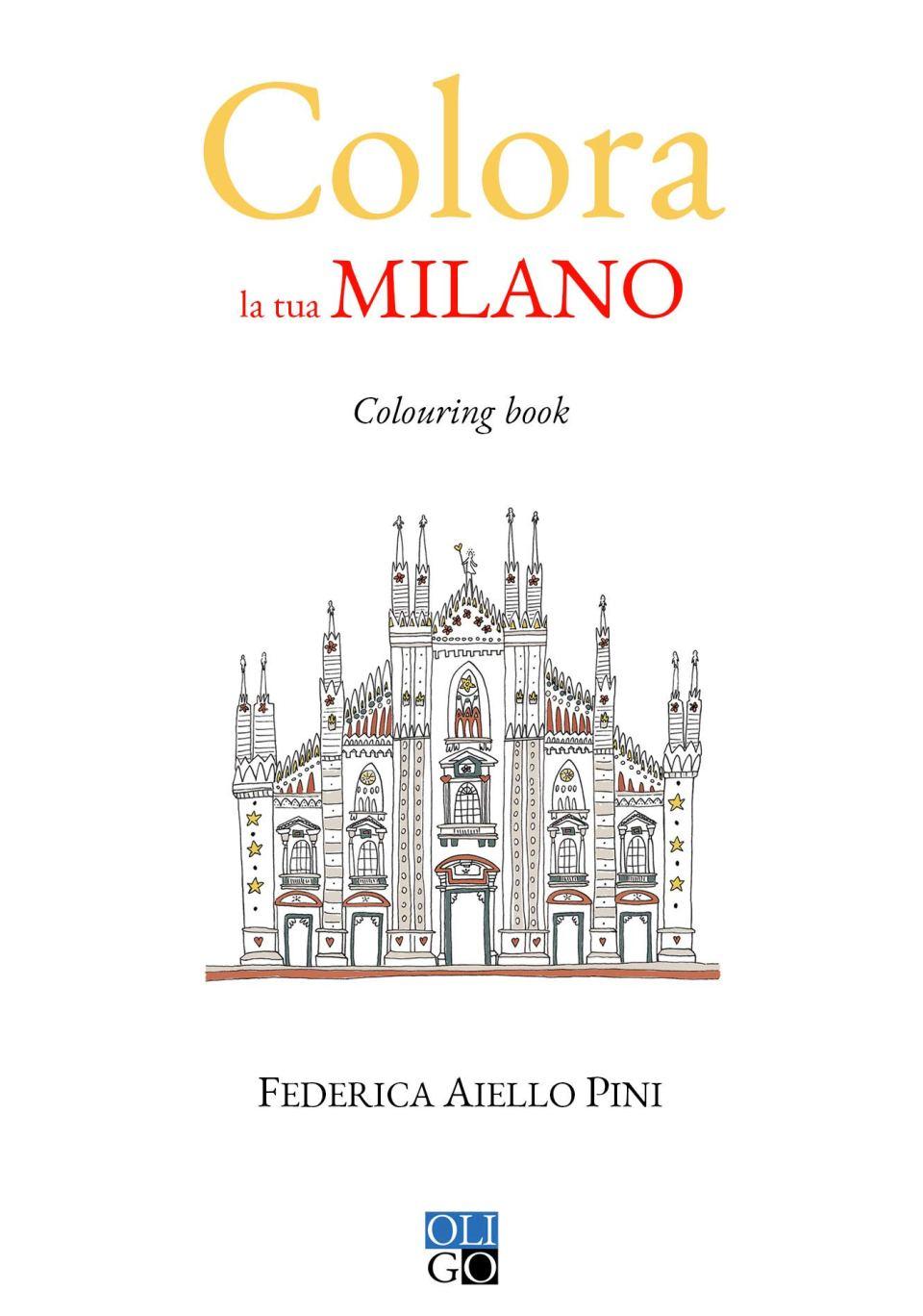Colora la tua Milano Book Cover