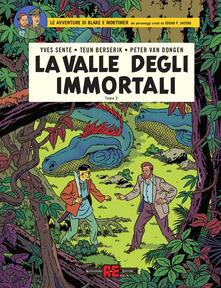 La valle degli immortali. Le avventure di Blake e Mortimer. Vol. 2: Il millesimo braccio del Mekong, Book Cover