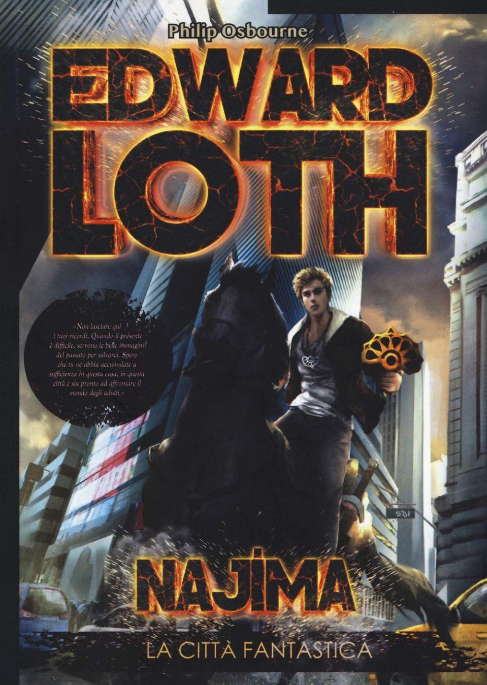 Najima. La città fantastica. Edward Loth Book Cover