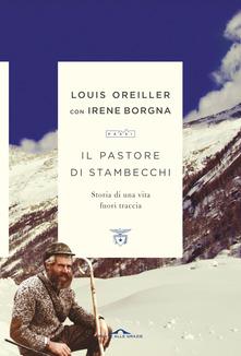 Il pastore di stambecchi. Storia di una vita fuori traccia Book Cover