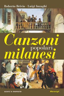 Canzoni popolari milanesi Book Cover