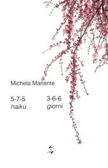 5-7-5 haiku 3-6-6 giorni Book Cover