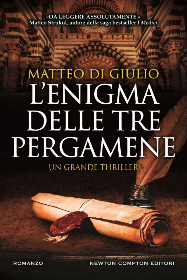 L'enigma delle tre pergamene Book Cover
