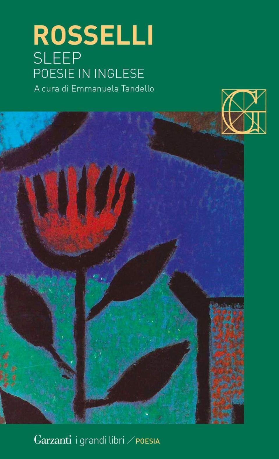 Sleep. Poesie in inglese Book Cover