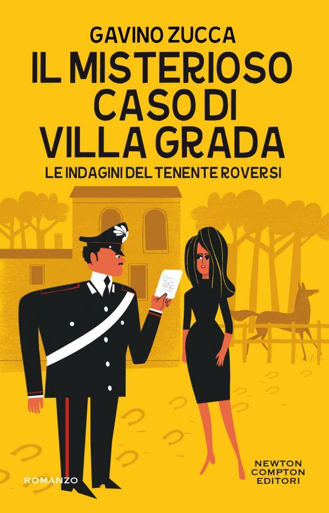 Il misterioso caso di Villa Grada Book Cover
