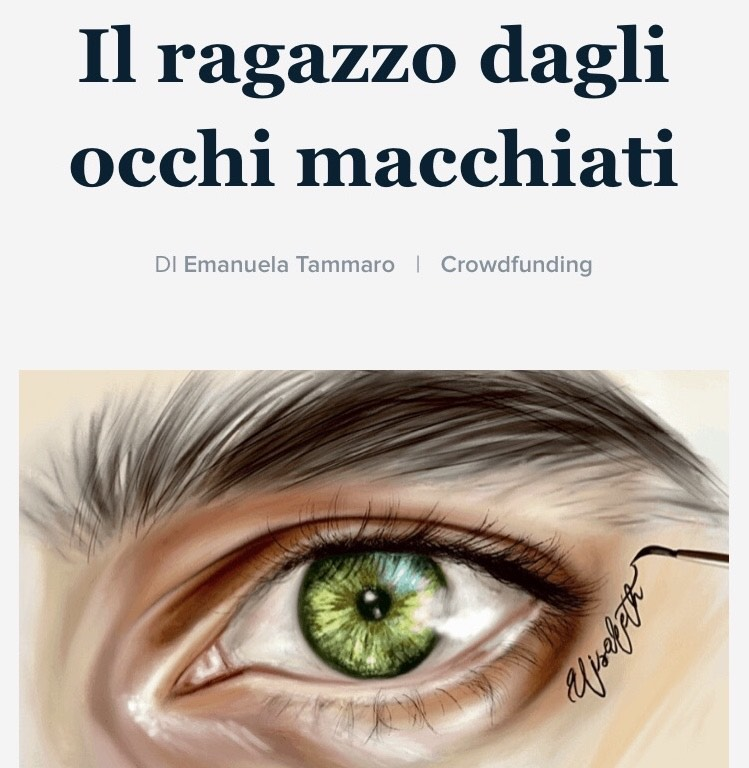 Il ragazzo dagli occhi macchiati Book Cover