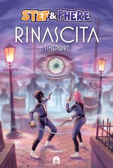 Rinascita. Timeport Book Cover