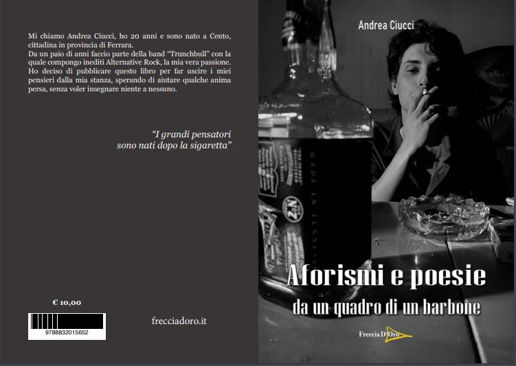 Aforismi e poesie da un quadro di un barbone Book Cover