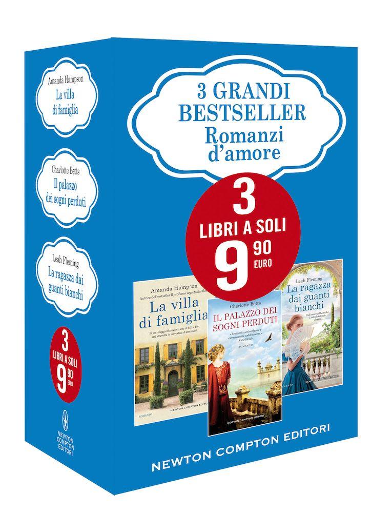 3 Grandi Besteseller - Romanzi D'Amore Book Cover