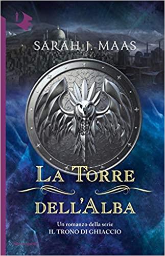La torre dell'alba. Il trono di ghiaccio Book Cover