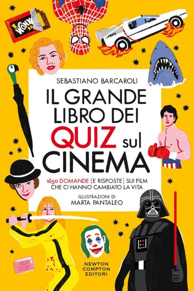 Il grande libro dei quiz sul cinema Book Cover