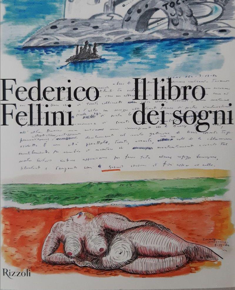 Il libro dei sogni di Federico Fellini Book Cover