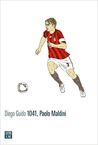 1041, Paolo Maldini Book Cover
