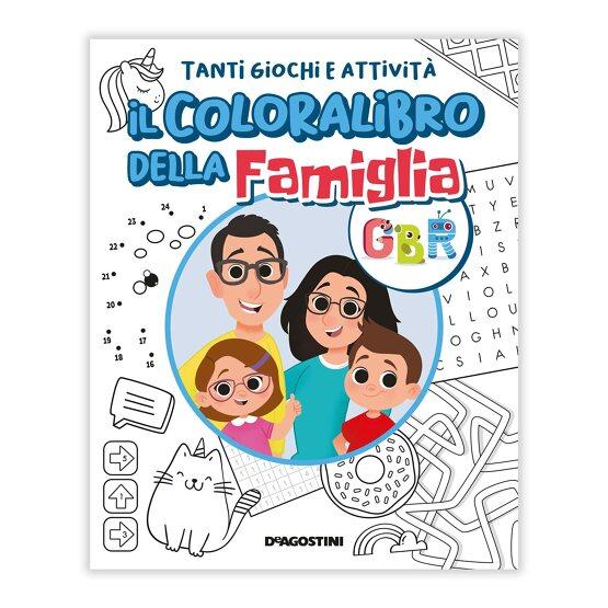 Il Coloralibro della Famiglia GBR Book Cover