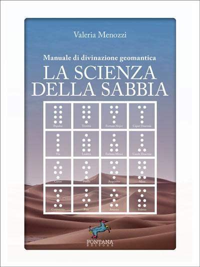 Manuale di divinazione geomantica. La scienza della sabbia Book Cover
