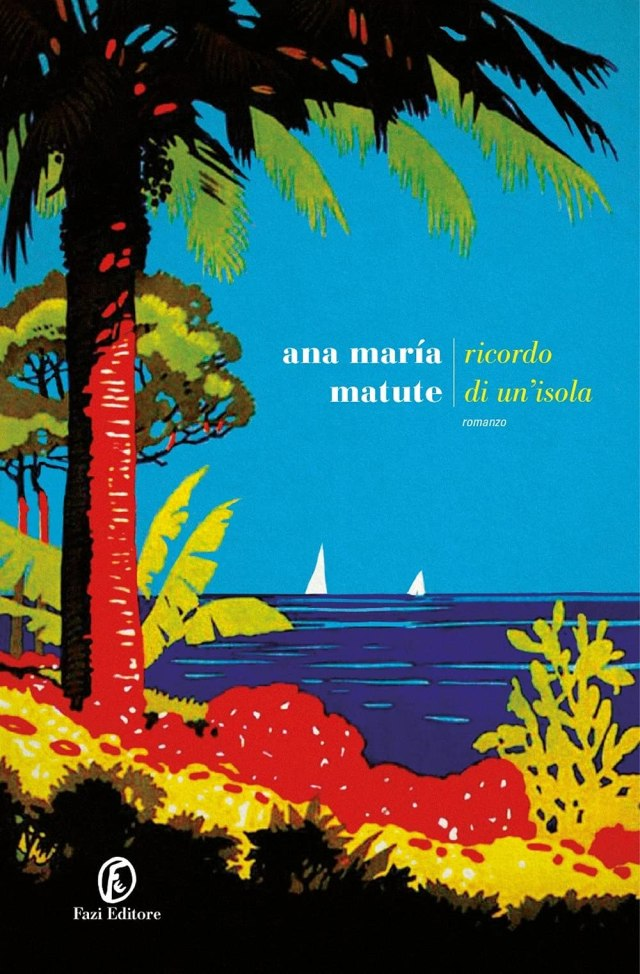 Ricordo di un'isola Book Cover