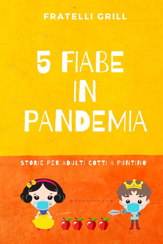 5 fiabe in pandemia Book Cover