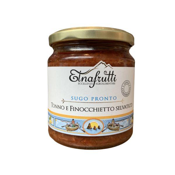 Sugo pronto Tonno e Finocchietto Selvatico - Etnafrutti