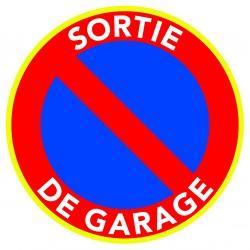 Panneau Interdiction De Stationner Car C Est Une Sortie De Garage