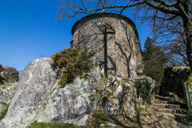 Schloss in Mortain