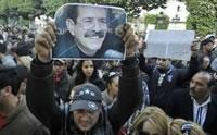 Generalstreik am Trauertag um Chokri Belaïd in Tunesien