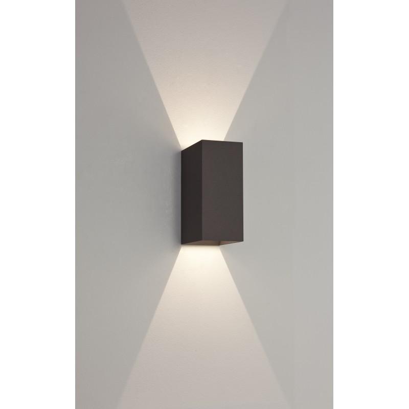Applique Murale Extrieure LED Oslo 160 Noire Astro Lighting