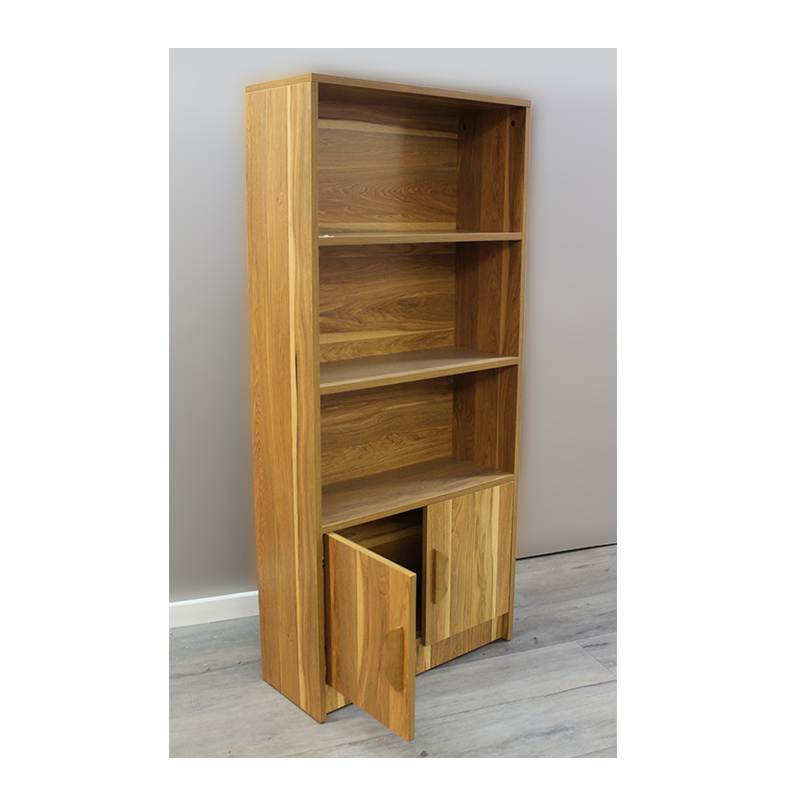 bibliotheque en bois h8