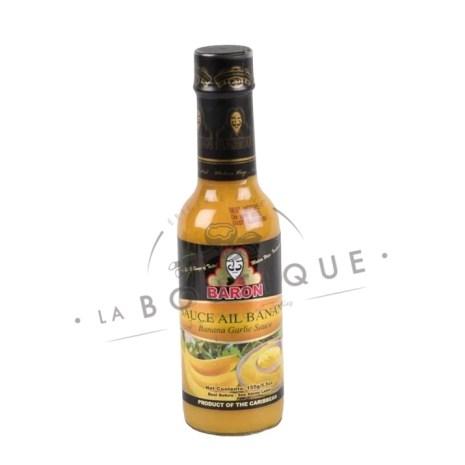 sauce ail banane