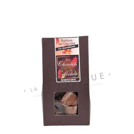 assortiment de bonbon chocolat