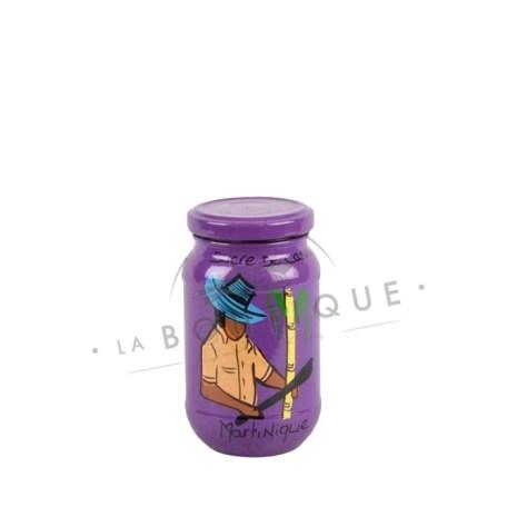grand pot sucre violet
