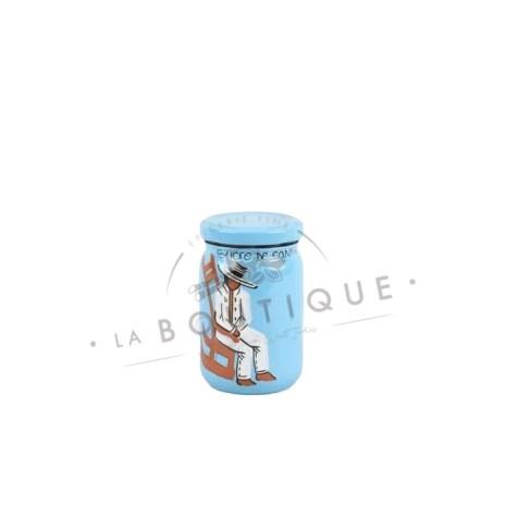 petit pot sucre bleu