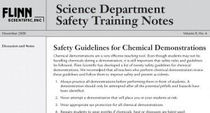 Flinn Safety Training Notes