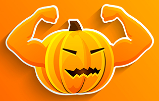 Image result for halloween working out