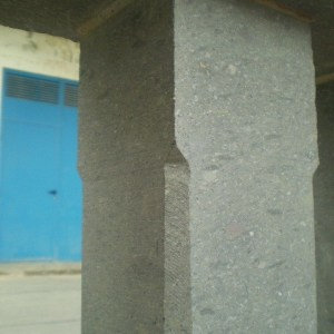 Balaustre Arucas recto ochavado 45x10x10/und