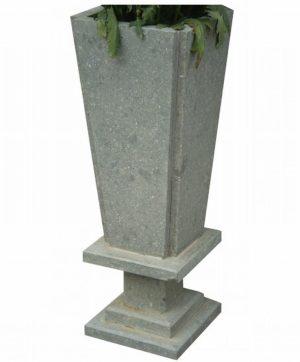 Macetero en piedra