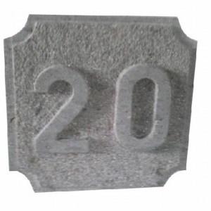 Número 20 Tallado