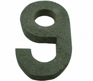Número 9 suelto