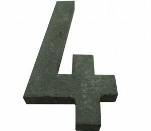 Número 4 suelto