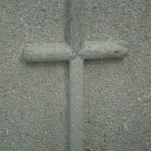 cruz pegada 2cm