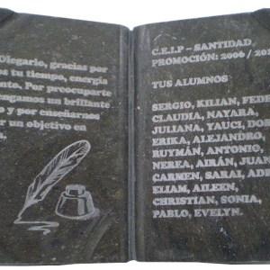 Libro grabado