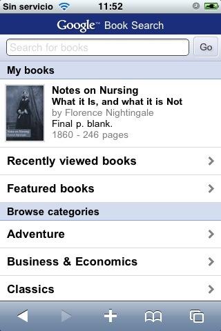 google books mobile