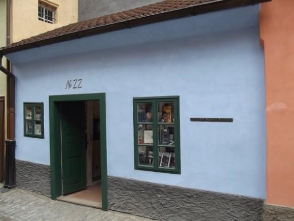 Paseo literario por Praga